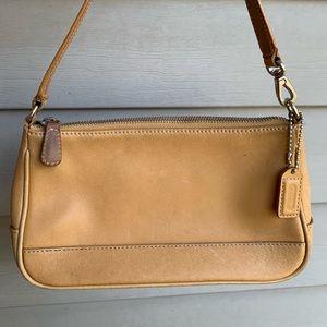 Coach Hampton Demi Leather Pouch Bag 7785